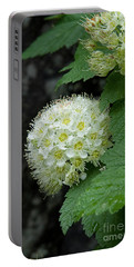 Portable Battery Charger featuring the photograph Flower Ball by Rod Wiens