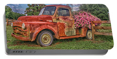 Dodge Flower Bed Portable Battery Charger