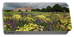 Flower Bed Hampton Court Palace Portable Battery Charger