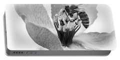Portable Battery Charger featuring the photograph Flower Bee by Cliff Norton