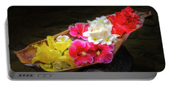 Flower Boat Portable Battery Charger
