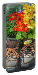 Flower Boots Portable Battery Charger