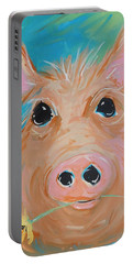 Flower Child Portable Battery Charger by Terri Einer