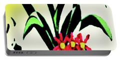 Flower Design #2 Portable Battery Charger