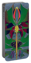 Flower Design Portable Battery Charger