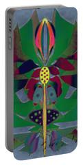 Flower Design Portable Battery Charger