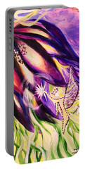 Flower Faerie Portable Battery Charger