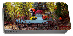 Flower Filled Wagon Portable Battery Charger