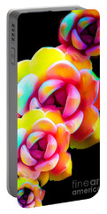 Flower Frenzy Portable Battery Charger