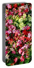 Flower Garden 1 Portable Battery Charger