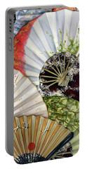 Flower Garden Portable Battery Charger by Hiroko Sakai