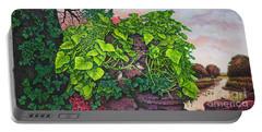 Flower Garden Viii Portable Battery Charger