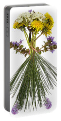 Flower Head Portable Battery Charger