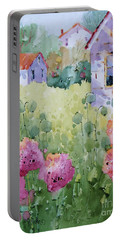 Flower Lady's Poppies Portable Battery Charger