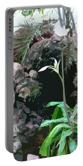 Flower, Leaf And Stone Portable Battery Charger