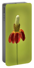 Flower  Portable Battery Charger by Nancy Landry