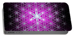 Flower Of Life Basic Portable Battery Charger