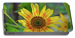 Portable Battery Charger featuring the photograph Flower Of The Sun by Kerri Farley