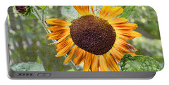 Portable Battery Charger featuring the photograph Flower Of The Sun by Larry Bishop
