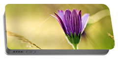 Flower On Summer Meadow Portable Battery Charger