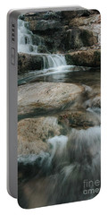 Portable Battery Charger featuring the photograph Flower Park by Iris Greenwell