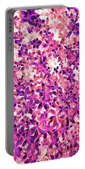 Flower Passion  Portable Battery Charger