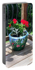 Flower Pot Portable Battery Charger