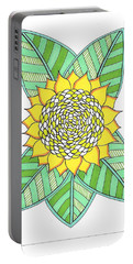 Flower Power 6 Portable Battery Charger