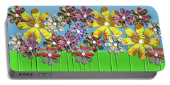 Flower Power Portable Battery Charger