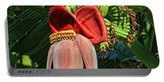 Portable Battery Charger featuring the photograph Flower Power by HH Photography of Florida