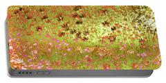 Flower Praise Portable Battery Charger