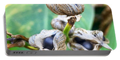 Flower Seed Pod Portable Battery Charger