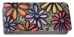 Flower Series 4 Portable Battery Charger