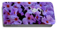 Flower Spider Portable Battery Charger