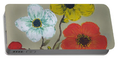 Flower Trio Portable Battery Charger