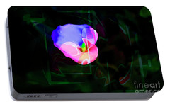 Portable Battery Charger featuring the photograph Flower Wower by Al Bourassa