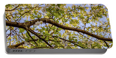 Flowering Crab Apple Portable Battery Charger