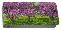 Flowering Crabapples Portable Battery Charger