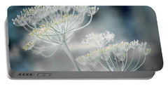 Portable Battery Charger featuring the photograph Flowering Dill Clusters by Elena Elisseeva