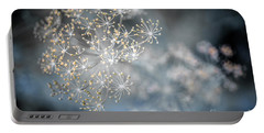 Portable Battery Charger featuring the photograph Flowering Dill Macro by Elena Elisseeva