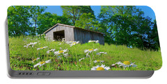 Flowering Hillside Meadow Portable Battery Charger