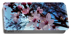 Flowering Of The Plum Tree 6 Portable Battery Charger