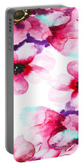 Flowers 04 Portable Battery Charger