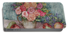 Flowers And Fruit Arrangement Portable Battery Charger