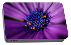 Portable Battery Charger featuring the photograph Flowers And Sand by Darren White