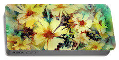 Flowers Are The Sweetest Things Portable Battery Charger