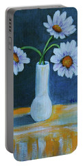 Flowers For Greta Portable Battery Charger