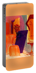 Flowers For Matisse 2  By Bill O'connor Portable Battery Charger