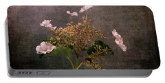 Portable Battery Charger featuring the photograph Flowers For The Mind by Randi Grace Nilsberg