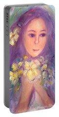Flowers For You Portable Battery Charger